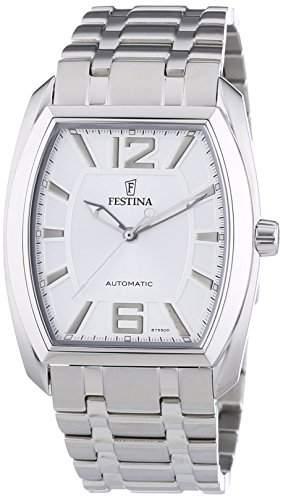Festina Herren-Armbanduhr XL Klassik Automatik AnalogAutomatik Edelstahl F6755D