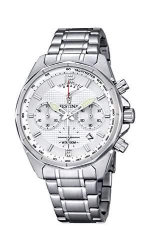 Festina Herren-Armbanduhr Chronograph Quarz Edelstahl F68351