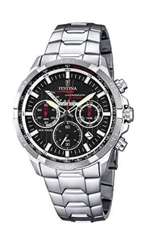 Festina Herren-Armbanduhr Chronograph Quarz Edelstahl F68364
