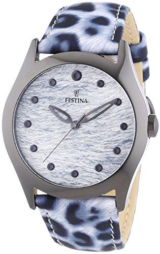 Festina Damen Armbanduhr Analog Quarz Leder F16649 1