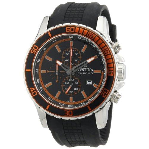 Festina Herren Armbanduhr XL Chronograph Quarz Plastik F16561 5