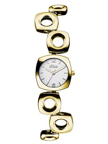 sOliver Damen-Armbanduhr XS Analog Quarz Alloy SO-3008-MQ