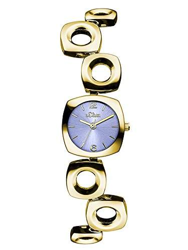 sOliver Damen-Armbanduhr XS Analog Quarz Alloy SO-3010-MQ