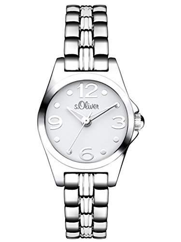 sOliver Damen-Armbanduhr XS Analog Quarz Alloy SO-3041-MQ