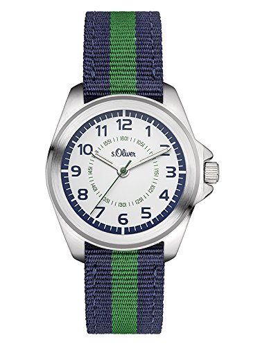 S Oliver Analog Quarz mit Textilarmband SO 3132 LQ