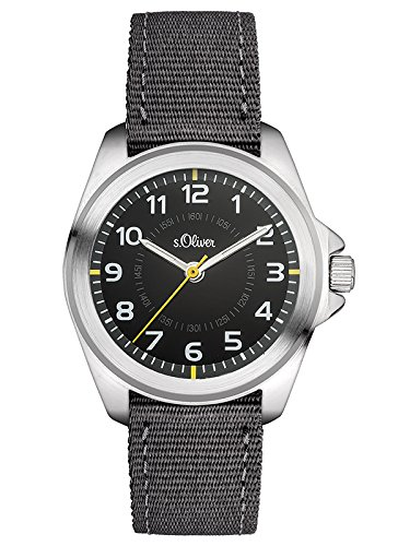 s Oliver Unisex Armbanduhr Analog Quarz Textil SO 3131 LQ