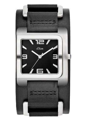 sOliver Herren-Armbanduhr SO-1641-LQ