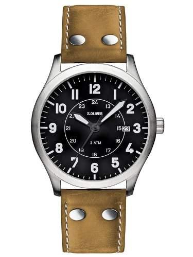sOliver Herren-Armbanduhr SO-1904-LQ