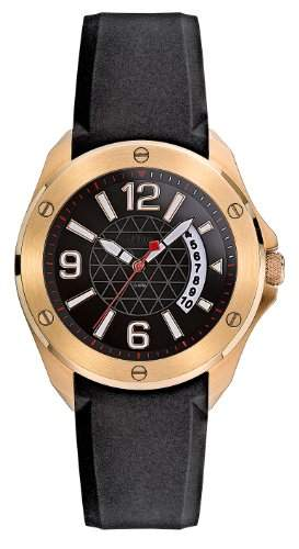 sOliver Herren-Armbanduhr Analog Quarz schwarz SO-1923-PQ