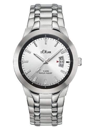 sOliver Herren-Armbanduhr SO-1977-MQ