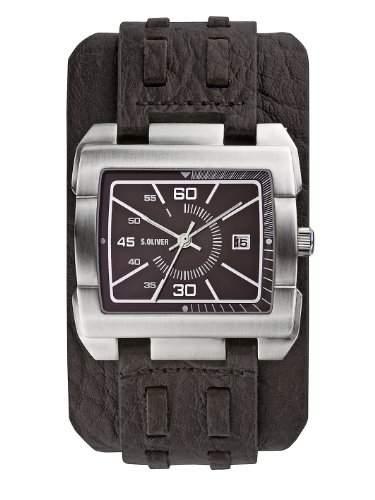 sOliver Herren-Armbanduhr SO-2050-LQ