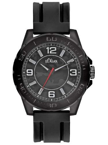 sOliver Herren-Armbanduhr Analog Quarz SO-2220-PQ