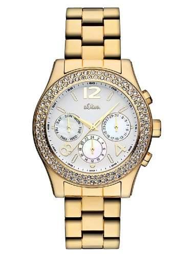 sOliver Damen-Armbanduhr Quarz Analog SO-2243-MM