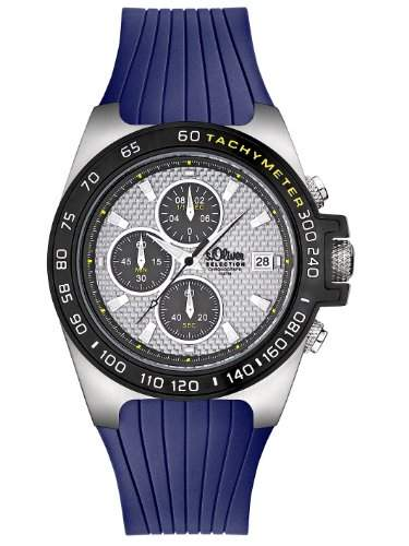 sOliver Herren-Armbanduhr Quarz Analog SO-2260-PC