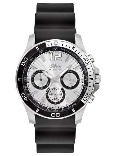 sOliver Herren-Armbanduhr Quarz Analog SO-2266-PC