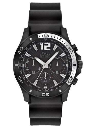 sOliver Herren-Armbanduhr Quarz Analog SO-2267-PC
