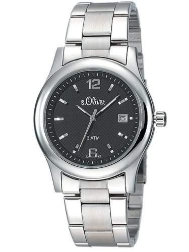 sOliver Herren-Armbanduhr SO-226-MQ