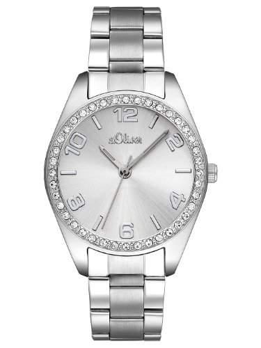 sOliver Damen-Armbanduhr Quarz Analog SO-2276-MQ