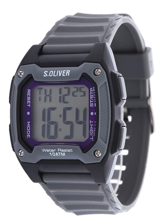 sOliver Herren-Armbanduhr Digital Plastik SO-2380-PD