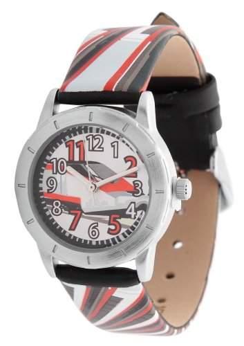 sOliver Jungen-Armbanduhr Analog Leder SO-2416-LQ