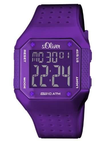 sOliver Unisex-Armbanduhr Digital Plastik SO-2437-PD