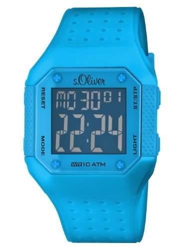 sOliver Unisex-Armbanduhr Digital Plastik SO-2439-PD
