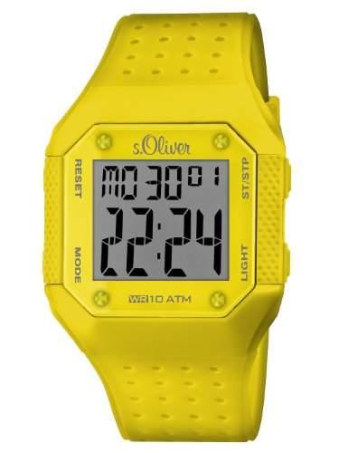 sOliver Unisex-Armbanduhr Digital Plastik SO-2440-PD