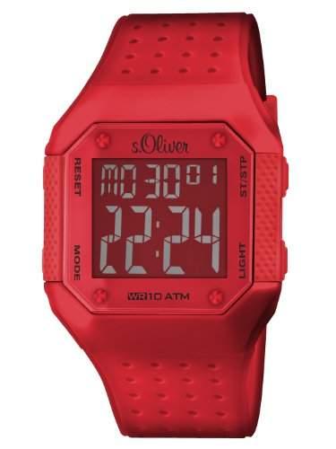 sOliver Unisex-Armbanduhr Digital Plastik SO-2441-PD