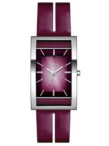 sOliver Damen-Armbanduhr Casual Analog Quarz Leder SO-2470-LQ