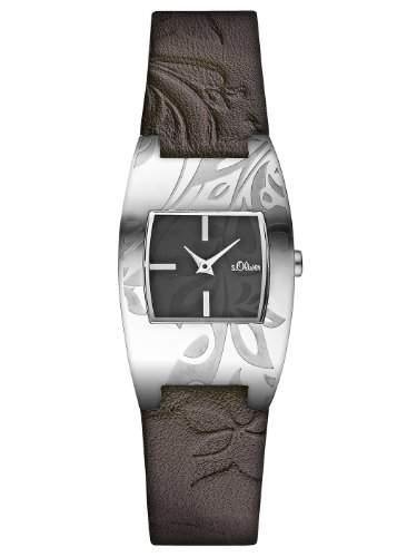 sOliver Damen-Armbanduhr Casual Analog Quarz Leder SO-2483-LQ