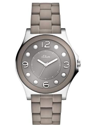 sOliver Damen-Armbanduhr Casual Analog Quarz verschiedene Materialien SO-2486-MQ