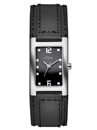 sOliver Damen-Armbanduhr Casual Analog Quarz Leder SO-2500-LQ