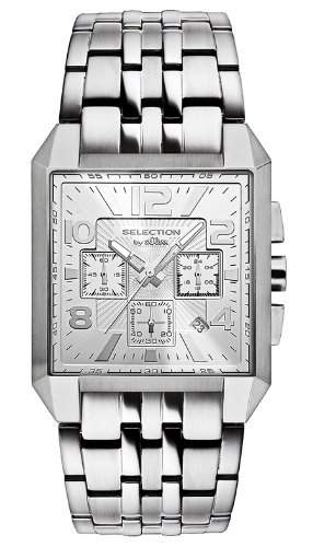 sOliver Herren-Armbanduhr Analog Quarz Edelstahl SO-2532-MC