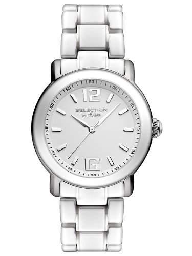 sOliver Damen-Armbanduhr Analog Quarz Keramik SO-2539-CQ