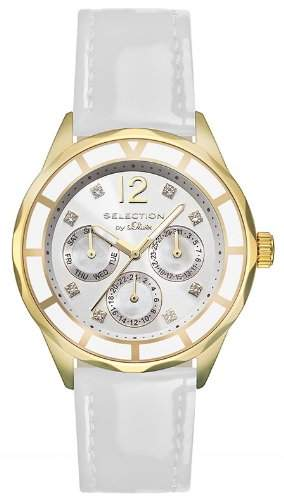 sOliver Damen-Armbanduhr Analog Quarz Leder SO-2540-LM