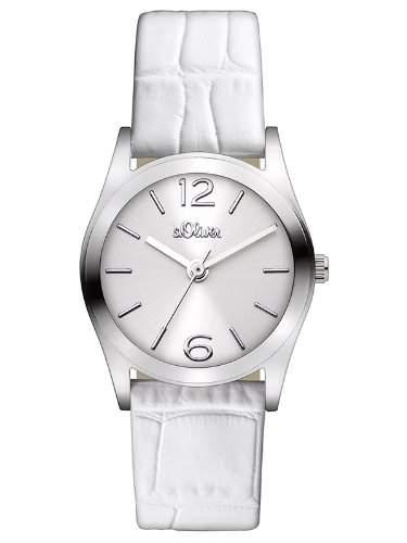 sOliver Damen-Armbanduhr XS Analog Quarz Leder SO-2620-LQ