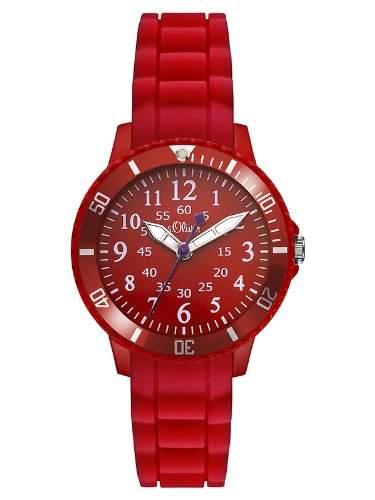 sOliver Unisex-Armbanduhr Analog Quarz Silikon SO-2758-PQ