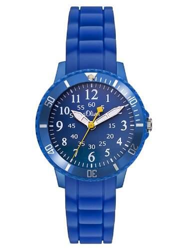 sOliver Unisex-Armbanduhr Analog Quarz Silikon SO-2759-PQ