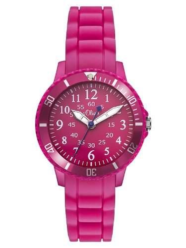 sOliver Unisex-Armbanduhr Analog Quarz Silikon SO-2760-PQ