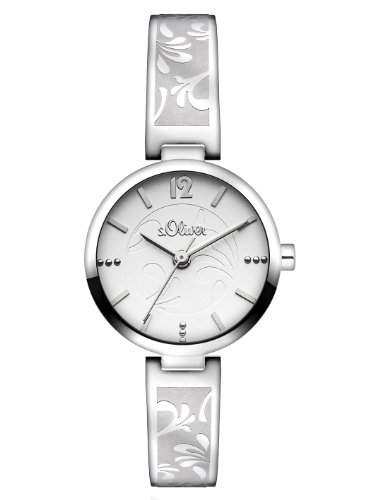 sOliver Damen-Armbanduhr XS Analog Quarz Edelstahl SO-2763-MQ