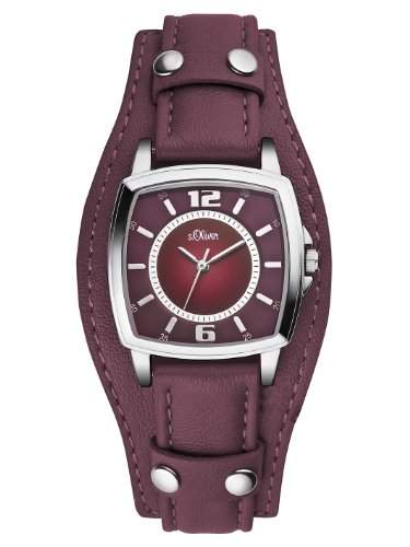 sOliver Damen-Armbanduhr XS Analog Quarz Leder SO-2786-LQ