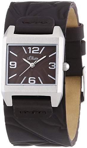 sOliver Damen-Armbanduhr XS Analog Quarz Leder SO-2790-LQ