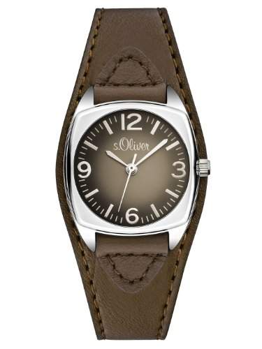 sOliver Damen-Armbanduhr XS Analog Quarz Leder SO-2791-LQ