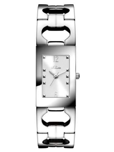 sOliver Damen-Armbanduhr XS Analog Quarz Edelstahl SO-2800-MQ