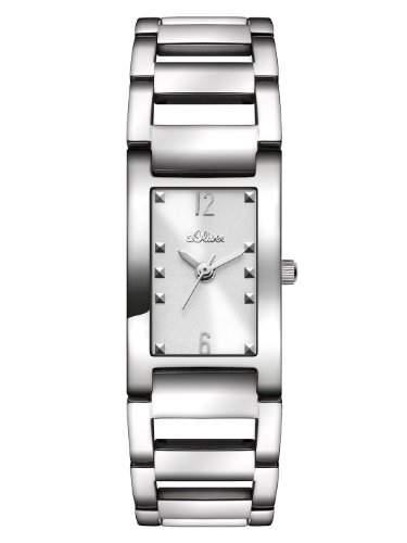 sOliver Damen-Armbanduhr XS Analog Quarz Edelstahl SO-2802-MQ
