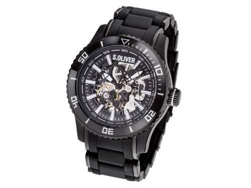 sOliver Uhren Herrenuhr SO-2855-AM