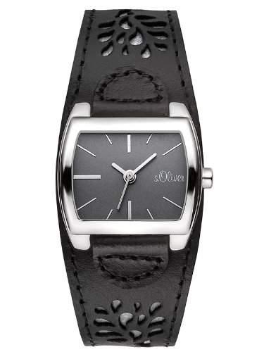 sOliver Damen-Armbanduhr Analog Quarz Leder SO-2878-LQ