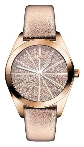 sOliver Damen-Armbanduhr XS Analog Quarz Leder SO-2922-LQ