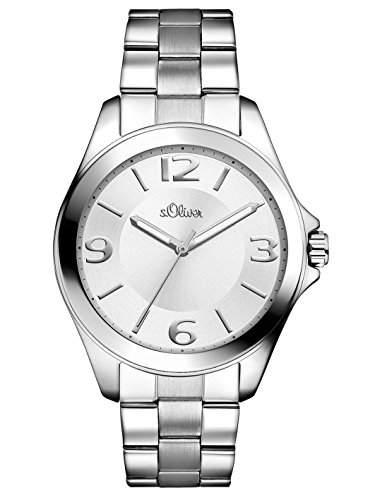 sOliver Damen-Armbanduhr Analog Quarz Edelstahl SO-2968-MQ