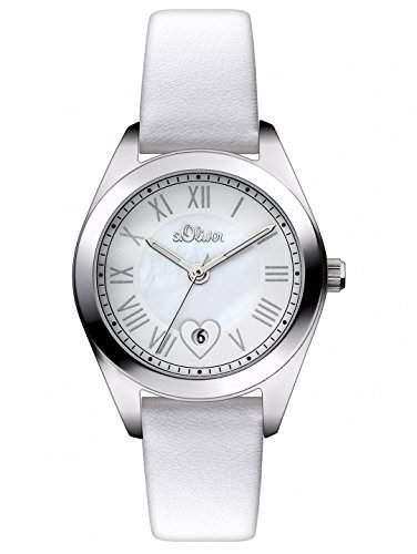 sOliver Damen-Armbanduhr XS Analog Quarz Leder SO-2973-LQ